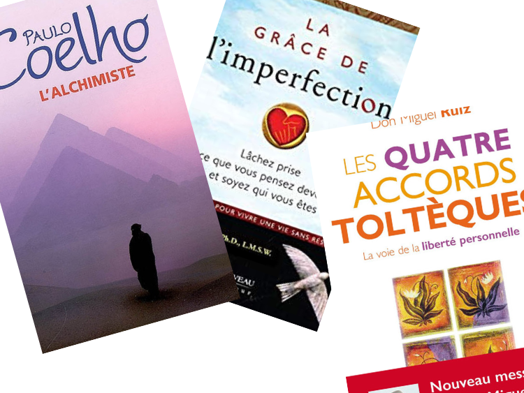 Quels sont les trois livres qui ont changé votre vie?